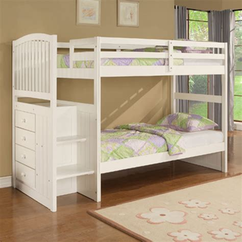 bunk beds design for kids furniture angelica by powell