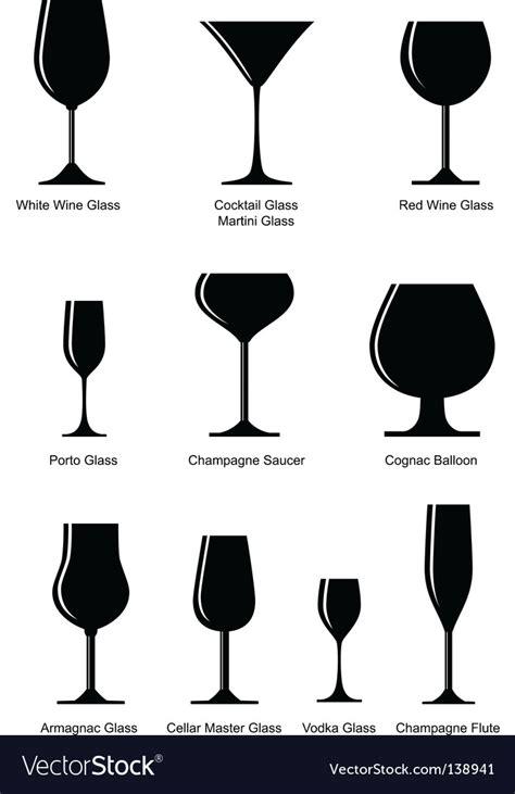 glass vector wine glass vector silhouette