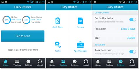 glary utilities for android limpe e otimize o android o glary utilities