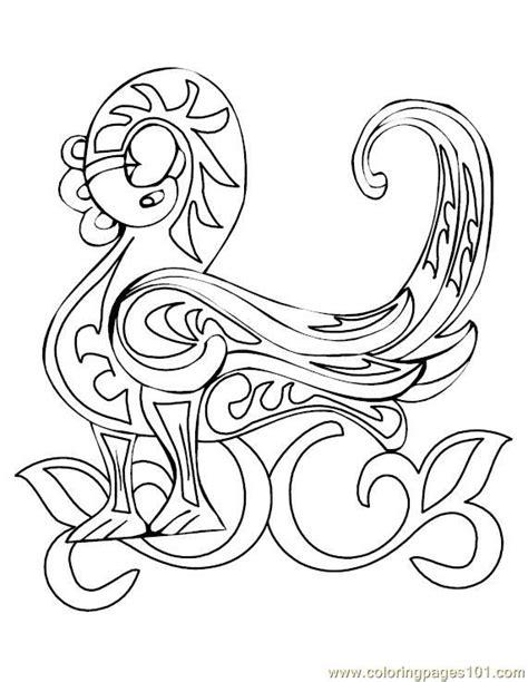 celtic alphabet coloring pages free celtic alphabet coloring pages
