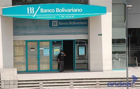 banco bolivariano banco bolivariano inaugur 243 nuevo punto de atenci 243 n la