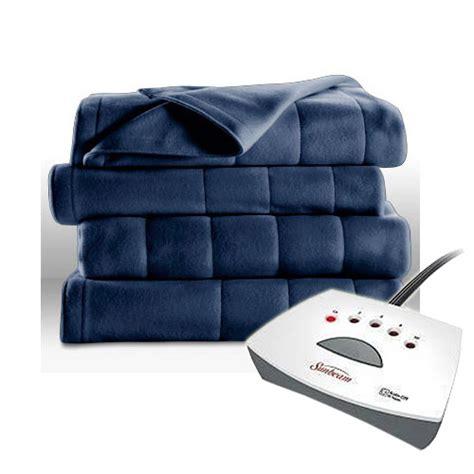 Sunbeam Therapedic Heated Blanket by Sunbeam Electric Heated Fleece Blanket Royal Dreams