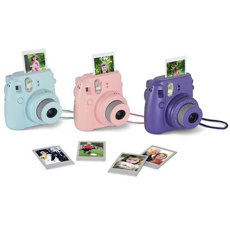 that prints photos instantly the instant mini photo printing hammacher schlemmer