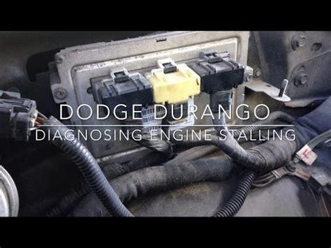 1999 dodge durango pcm dodge durango engine stalling test pcm ecu failing test