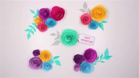 marie paper flower tutorial diy paper flowers tutorial youtube