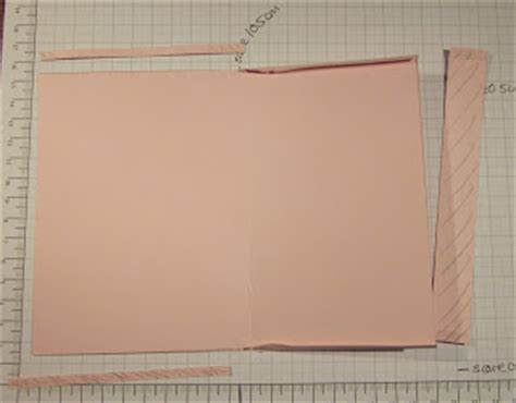 How To Make A Pocket Out Of Paper - cardsandacuppa stin up uk order