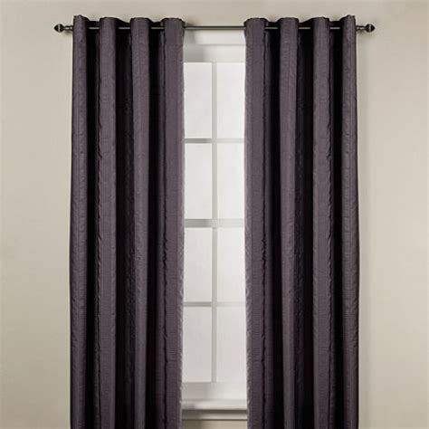 bed bath and beyond chandler chandler woven stripe window curtain panels home sweet