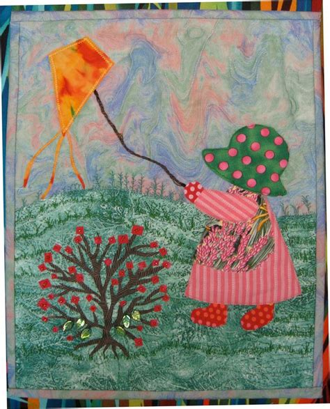 quilt pattern sunbonnet sue sun bonnet sue quilt patterns free metaphor in fabric