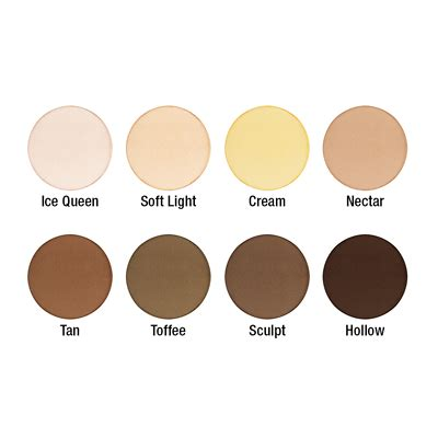 Nyx Highlight And Contour nyx professional makeup highlight contour pro palette 16