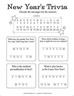 new year 2013 trivia questions answers homeschool parent new years activities for the kiddos