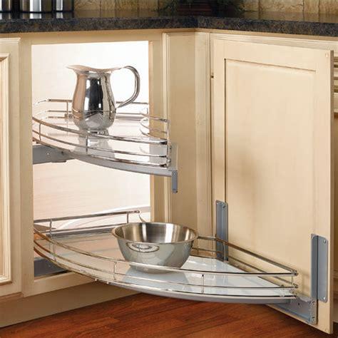 rev a shelf blind corner cabinet pull out rev a shelf quot the curve quot luxury kitchen blind corner unit
