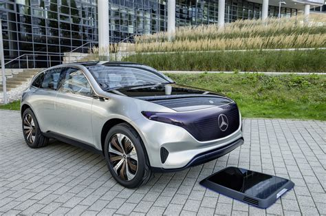Mercedes Generation EQ SUV Concept Previews Electric SUV