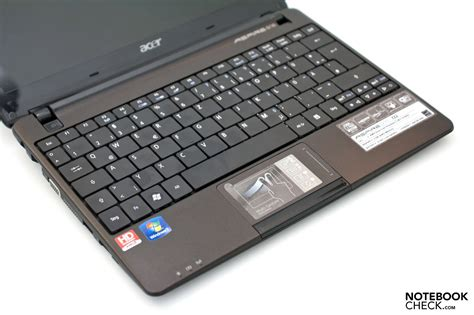 Keyboard Laptop Acer Aspire One 722 review acer aspire one 722 netbook notebookcheck net reviews