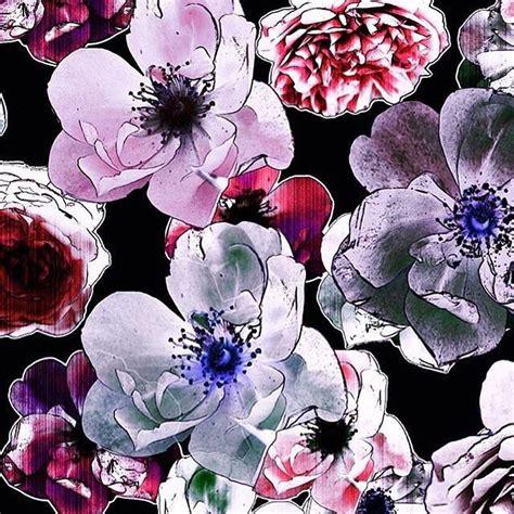 patternbank floral beccy bland scattered rose garden https patternbank