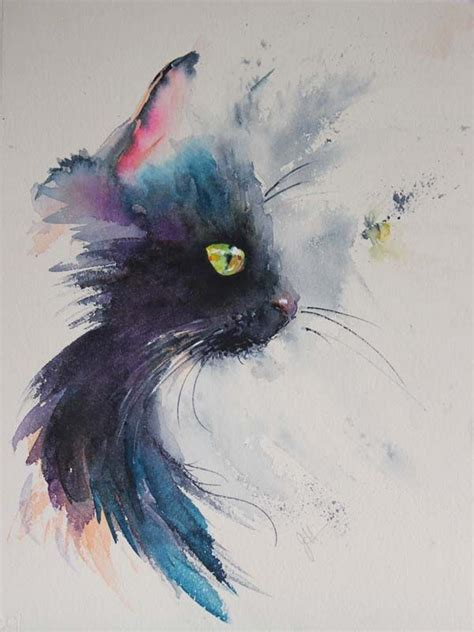 watercolor cat tattoo tattoo collections