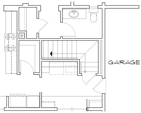floor plans with stairs featured house plan pbh 7000 professional builder