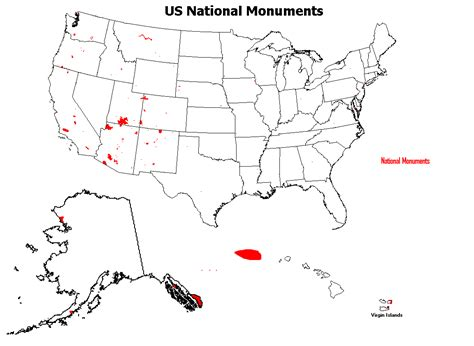 national monuments map national monument highpoint trip reports i z