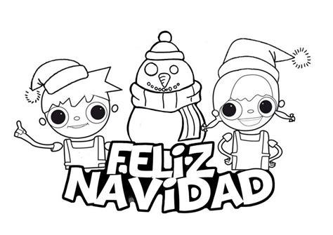 dibujos de navidad para pintar juegos dibujos de feliz navidad para colorear e imprimir