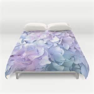 Ombre Duvet Cover Soft Pastel Hydrangea Duvet Cover By Judy Palkimas Society6