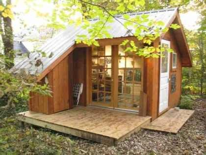 lester walker tiny houses j s writing cabin cattywus farms pinterest