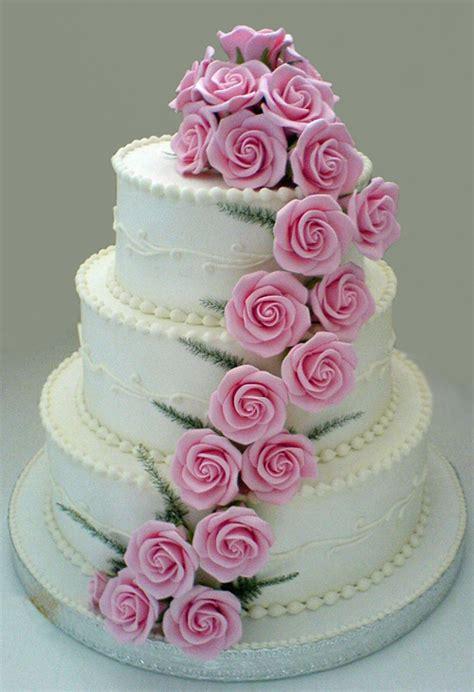 Hochzeitstorte Altrosa by Cascade Wedding Cakes