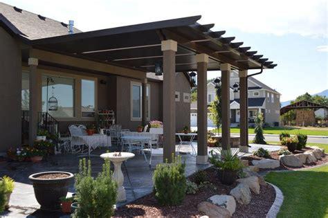 Stucco Patio Cover Designs Residential Patio Covers In Utah Warburton S Inc