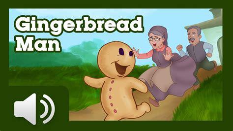 free printable version gingerbread man story the gingerbread man children story youtube