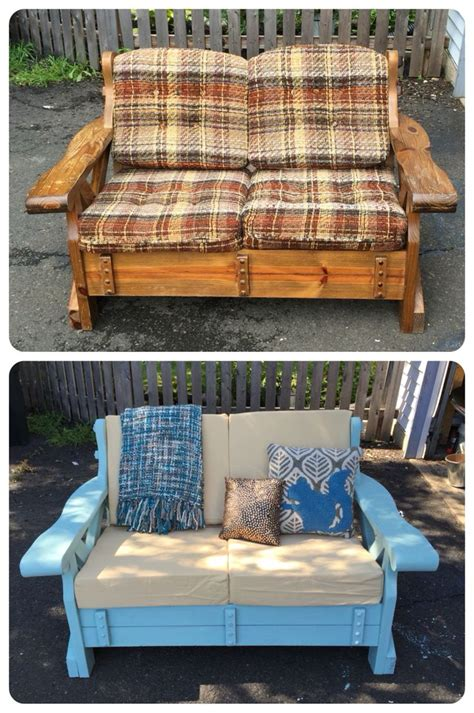 old wooden couch best 25 couch makeover ideas on pinterest painted couch