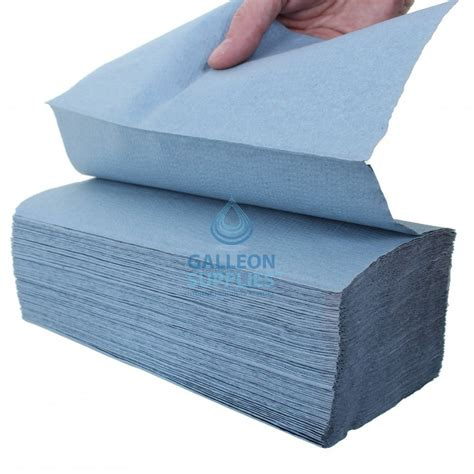 V Fold Paper Towels - galleon value 1 ply blue v fold paper towels