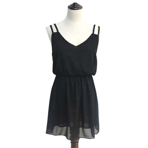 dress wanita casual summer style size m black jakartanotebook