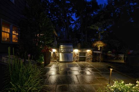 Landscape Lighting Forum Outdoor Lighting For Patio And Kitchen Tode Landscape