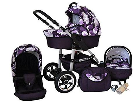combi stroller and car seats set lux4kids avaro 3 in 1 pram combi stroller pushchair