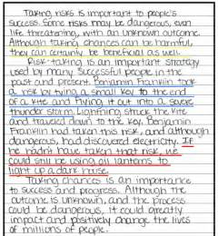 Easy Thesis Statement Examples The Curly Classroom Power Sentences