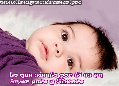 imagenes lindas de amor de bebes im 225 genes de ni 241 os tiernos con frases de amor puro