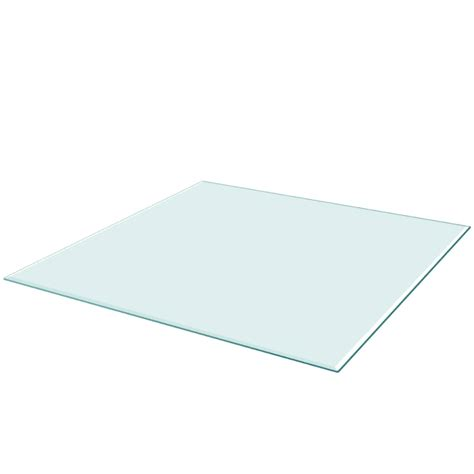 tempered glass table top vidaxl table top tempered glass square 800x800 mm vidaxl