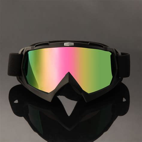 tinted motocross goggles youth mx goggles anti fog uv protection tinted dirt bike