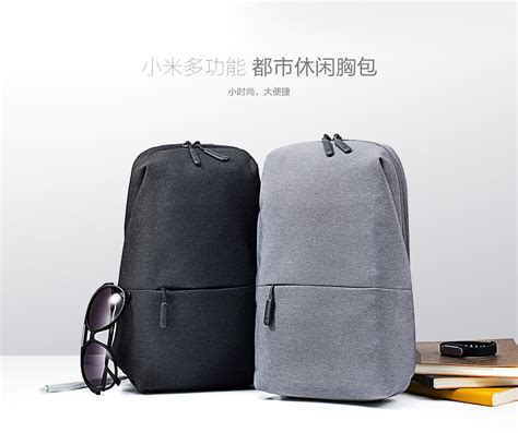 Tas Slempang Selempang Pria Kulit Sling Shoulder Bag Cowok Import xiaomi tas selempang style original gray