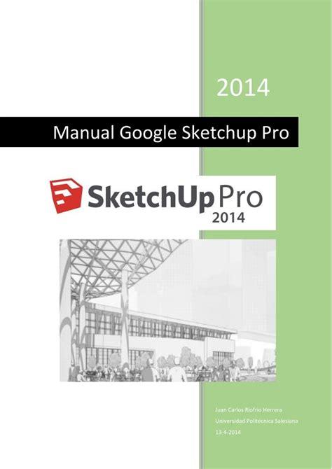 google sketchup manual tutorial pdf pdf de programaci 243 n manual google sketchup pro