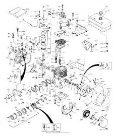 tecumseh h60 75375j parts diagram for engine parts list 1