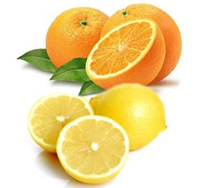 Do You Lemons From Oranges today on the tray oranges and lemons and beefaroni