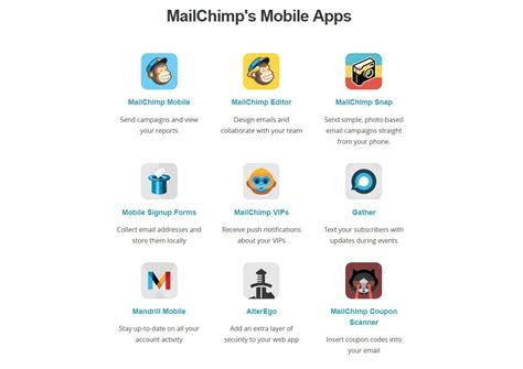 mailchimp mobile app an in depth guide on how to integrate mailchimp into