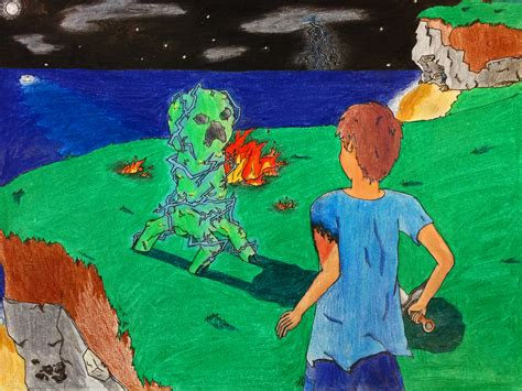 Drawing Unblocked by Minecraft Unblocked 2 Struck By Lightning By Onatfb On