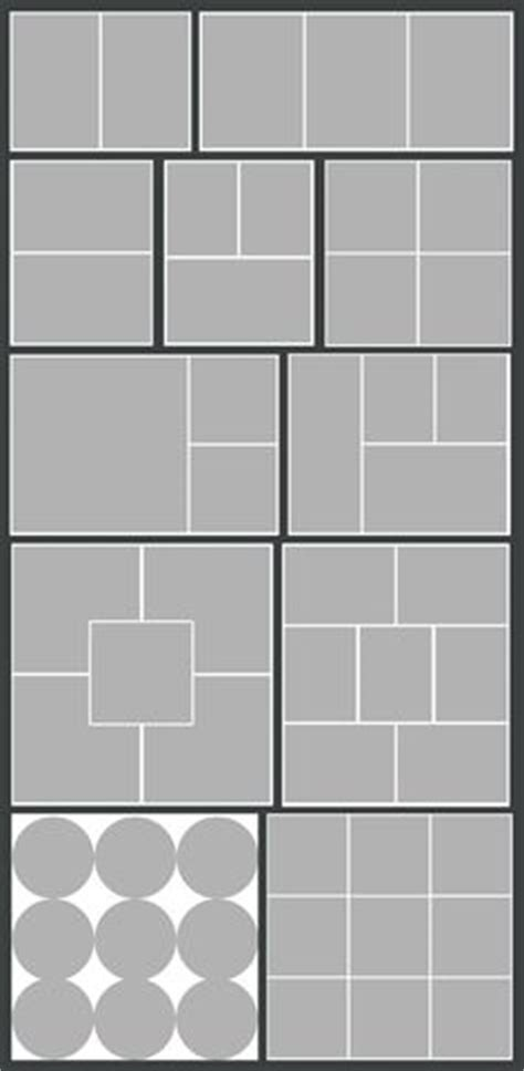 template no photoshop storyboard collage blog board photoshop psd templates