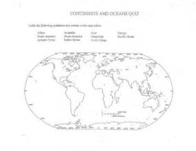 us map with continents and oceans 5 best images of continents and oceans map printable
