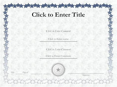how to create a certificate template decorated certificate