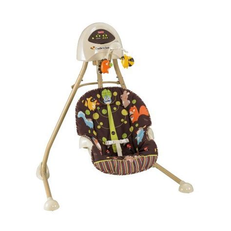 fisher price animal swing fisher price 2 in 1 cradle swing woodland animals