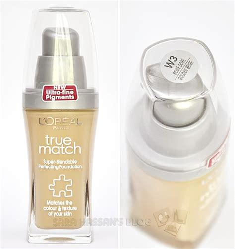 Foundation L Oreal True Match foundation true match foundation and swatch on