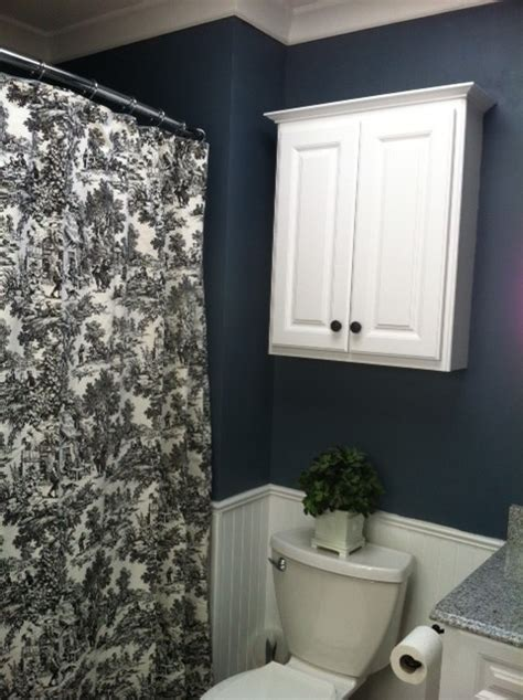 Steel Blue Bathroom by Accent Colours For Mat And Towels