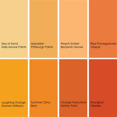 color feast    orange   dining room