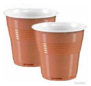 4800 bicchierini di plastica da caff 232 bicolore bicchierino